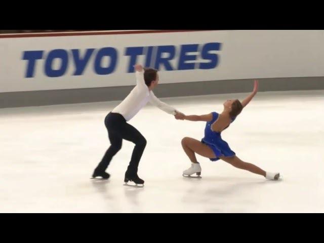 Kavita LORENZ / Joti POLIZOAKIS GER Free Dance Nebelhorn Trophy 2017