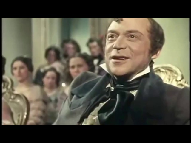 Sviatoslav Richter as Franz Liszt in the Glinka - The Composer movie