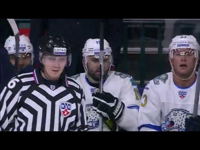 Brilliant Bobby Orr style goal by Khudyakov / Максим Худяков исполнил Бобби Орра