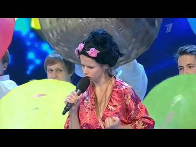 КВН.Факультет журна-ки 2012 1/2 финала 2я игра Приветствие
