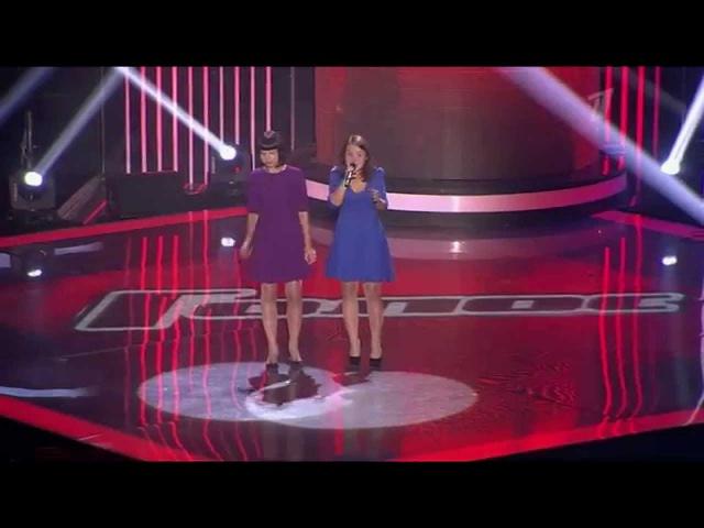 Сёстры Шахтарины Mr Sandman - Слепые прослушивания - Голос - Сезон 3
