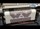 How Dose Dye Sublimation Paper Works on Mimaki Jv150 160 and Roller heat Press Machine
