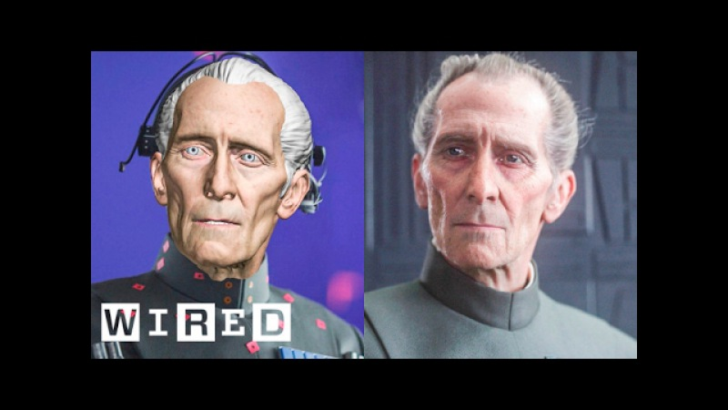 How 'Rogue One' Recreated Grand Moff Tarkin | Design FX | WIRED