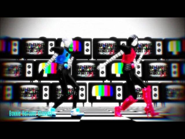 【MMD x Undertale】M O N S T E R   MotionEditedByParker   【Mettaton EX and Napstablook EX】