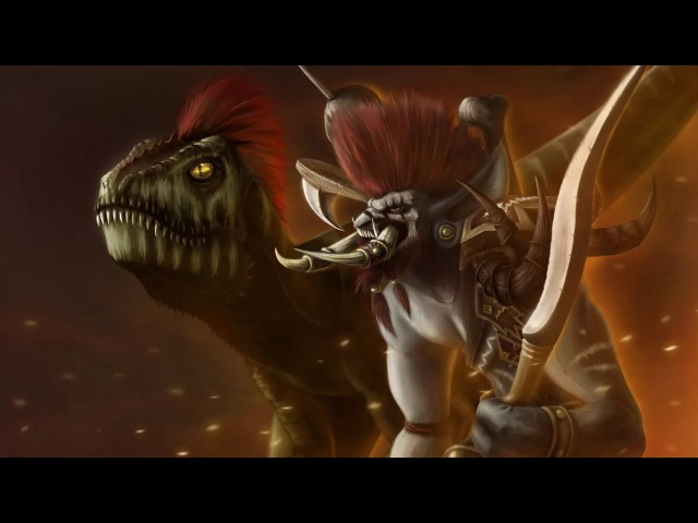 Ссора Гарроша и Вол'Джина (изгнание троллей из Оргриммара)