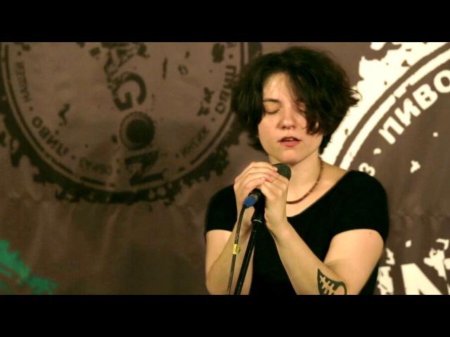 Агата Вильчик и Анна Минакова - Bari Arakeel (Khatchadour Tankian / Харьков, Pintagon, 24.06.16)