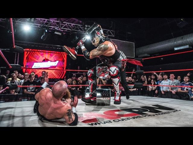 Penta El Zero M vs Primate Hardcore Title Match WCPW Loaded September 28th 2017 Part 4