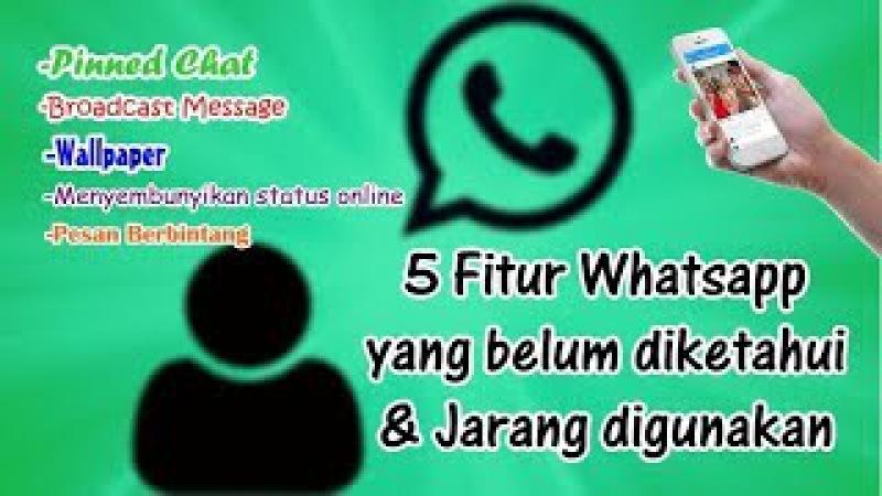 5 Fitur Whatsapp Yang Belum Diketahui dan Jarang Digunakan