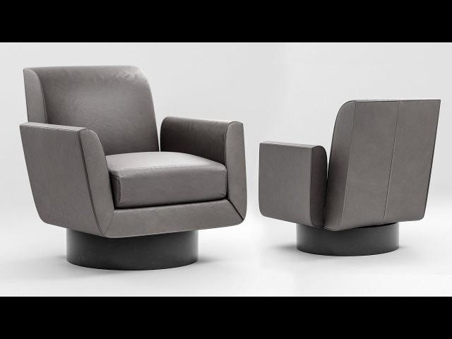 Photorealistic Chair in Blender Modeling Tutorial 1 of 2