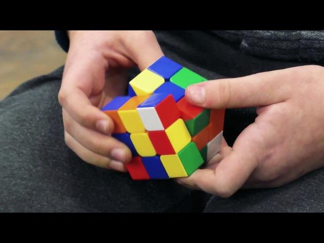 Мальчик собирает кубик рубика за 30 секунд - Медиакванториум33