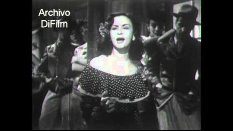 Tita Merello canta El choclo - La historia del Tango 1949