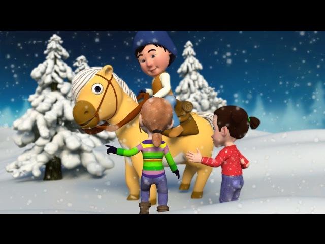 Новогодние Детские Песни Как На Тоненький Ледок Новогодний Сборник Для Детей