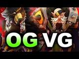 OG vs VG - NEVER GIVE UP! - ESL KATOWICE MAJOR DOTA 2
