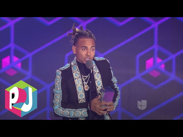 Ozuna ganó 'Mejor Artista Revelación' en Premios Juventud