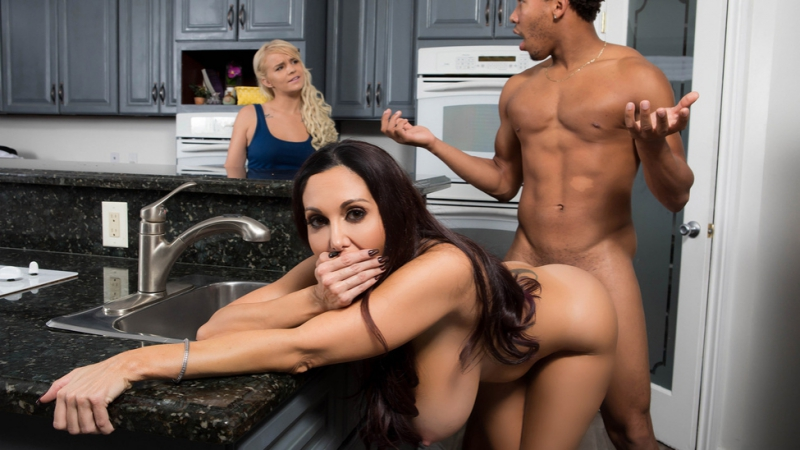 Brazzers Ava Addams One Strict Mama All Sex Doggystyle POV Huge Tits Interracial MILF Mom HD Porn
