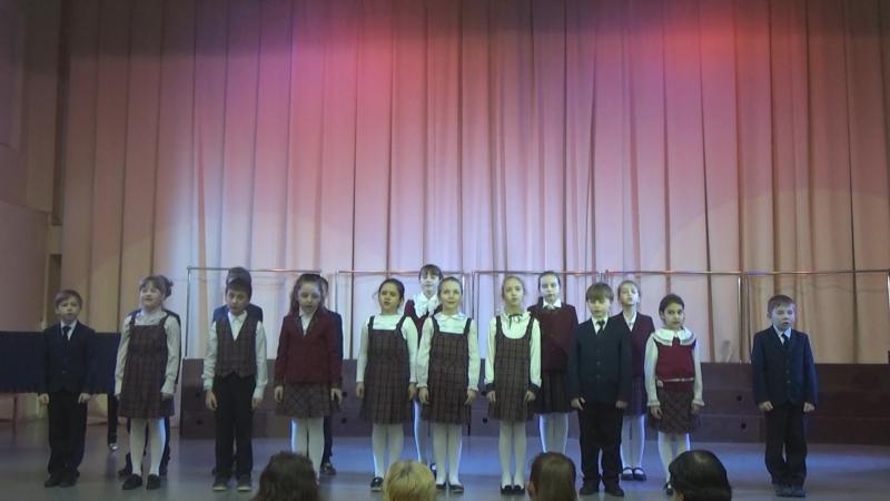 Вокальный ансамбль -Joy-- районный конкурс -7 нот-