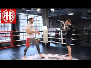 Урок 60: Хайкик техника нокаутирующего удара от Дениса Гольцова / ufcall