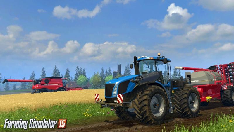 Farming Simulator 2015 КартаБалдейкино [ONLINE-STREAM]
