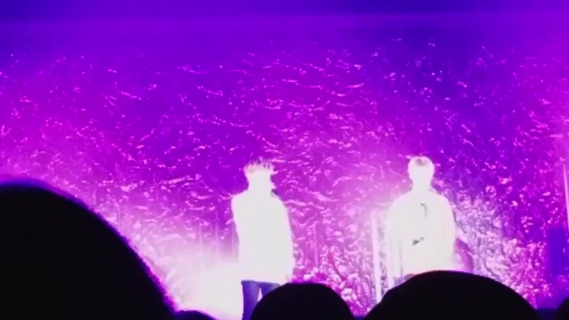 FANCAM   02.03.18   Donghun, Jun @ Fan-con 2018 'Sweet Fantasy' in Japan Pt1 / Cry again