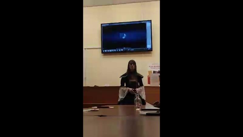 Часть видеозаписи с моего выступления и с выступления некоторых чудесных петербургских участников (вокалисты, поэты, артисты)