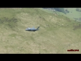 F-35 first time at Mach Loop, Wales