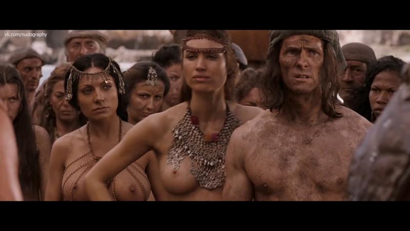 Алина Пускау Alina Puscau и Златка Райкова Zlatka Raikova голые Конан варвар Conan the Barbarian 2011 1080p