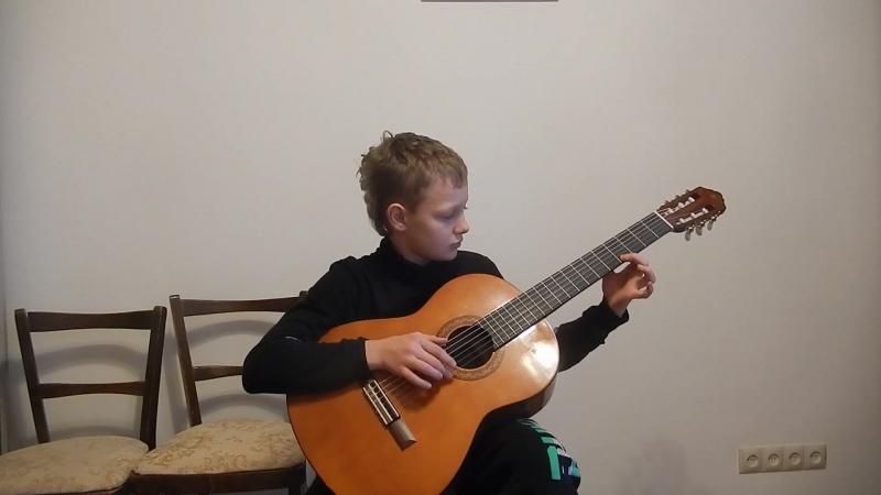 ДАНИИЛ Начинающие ученики дети и взрослые должны понимать что они играют Поэтому пропеваем то что играем Здесь тут как тут
