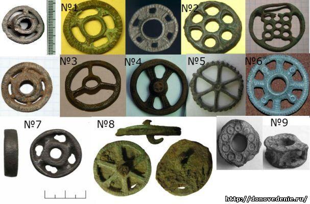Древние солярные кружочки скифов и других народов Юго-востока Европы