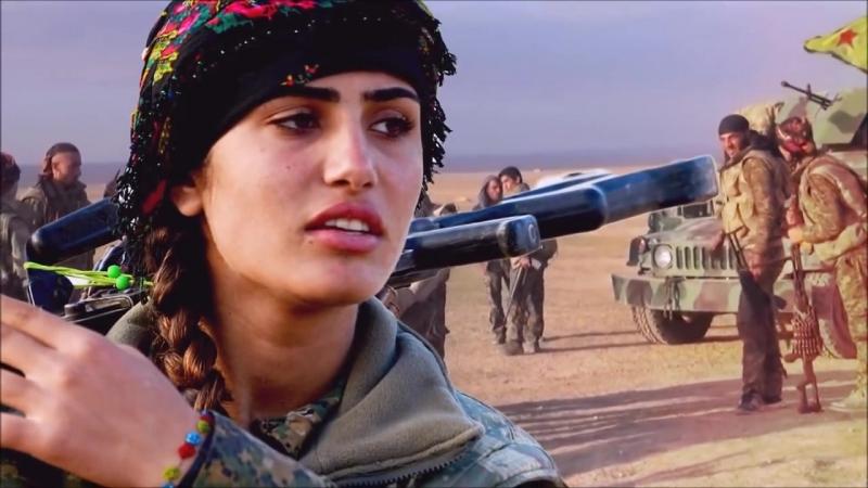 Азия (Виян) - курдская Анджелина Джоли - погибла в бою