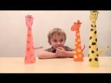 Простые поделки своими руками – жирафы из бумаги