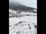 Snow in Saudi