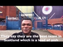 Marcel Desailly - Outside the Ibrox