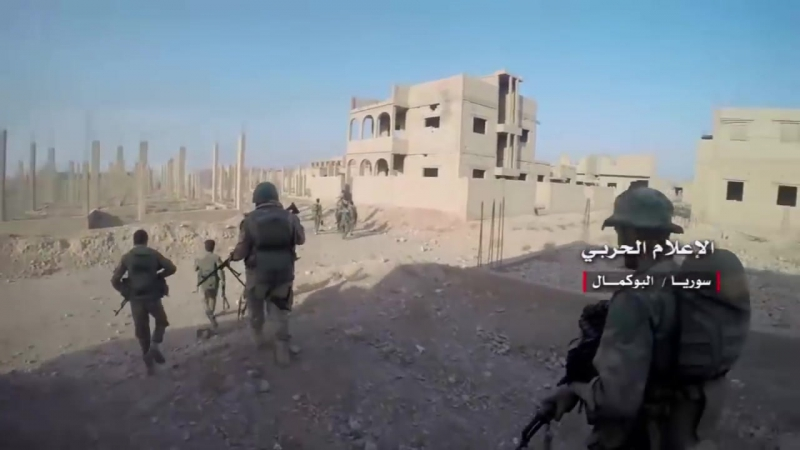 Подразделения сирийской армии и союзных войск взяли под свой контроль город Альбукмаль