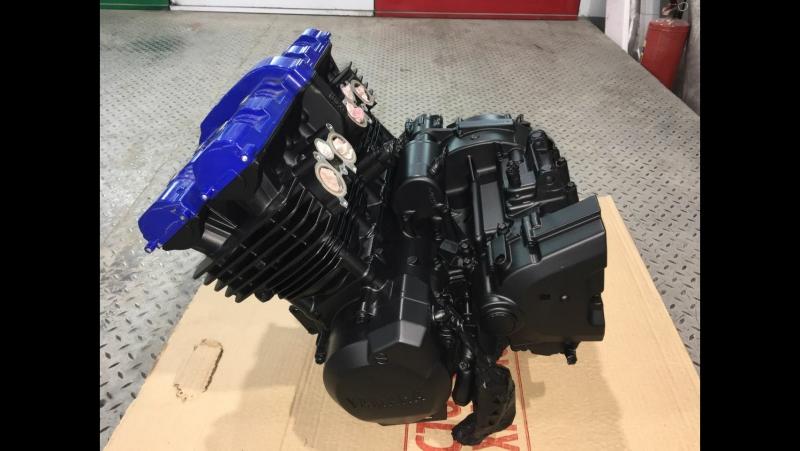Переборка двигателя fzs600 на квадроцикл Yfz450