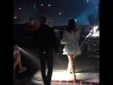 Лана выходит на сцену (Live @ «LA To The Moon Tour»: «Valley View Casino Center»)