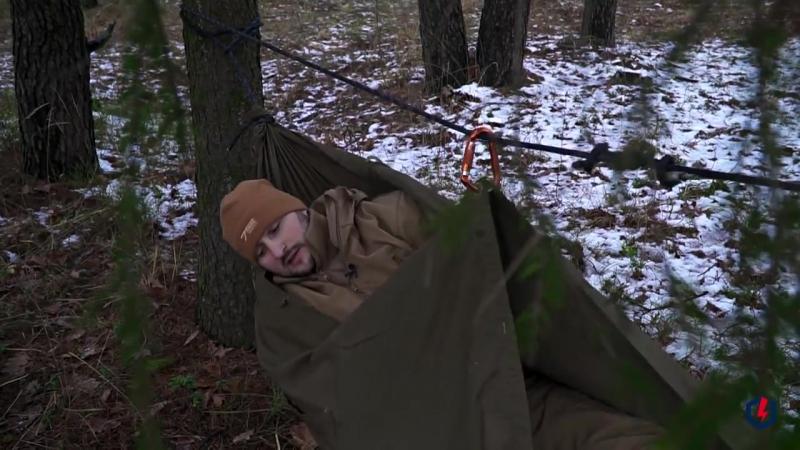Как сделать гамак из плащ-палатки