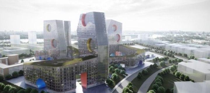 Стивен Холл застроит Тушинский аэродром