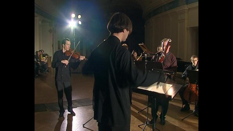 Курентзис Концерт в темноте Репортаж телестанции Мир