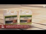 Масло для террас Ripristino di una terrazza in legno Pulizia intensiva e finitura con Terrace Oil