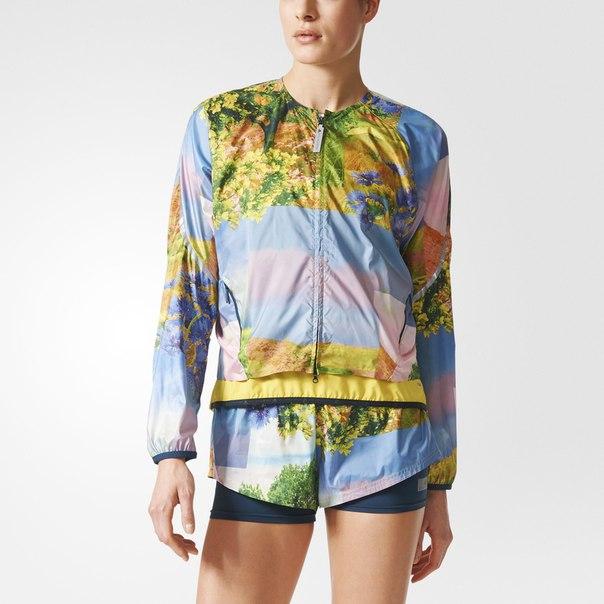 Куртка для бега adizero Nature Print