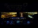 Очень красивая посадка  #Airbus #A380 #Emirates в аэропорту #Dubai