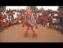 Танец народности гуро - Zaouli de Manfla