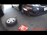 Тест KIA RIO и HYUNDAI SOLARIS на Moscow Raceway на тормозных колодках и дисках UBS