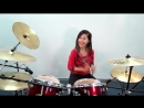 Europe The Final Countdown Silent Knight Version Drum Cover by Nur Amira Syahira