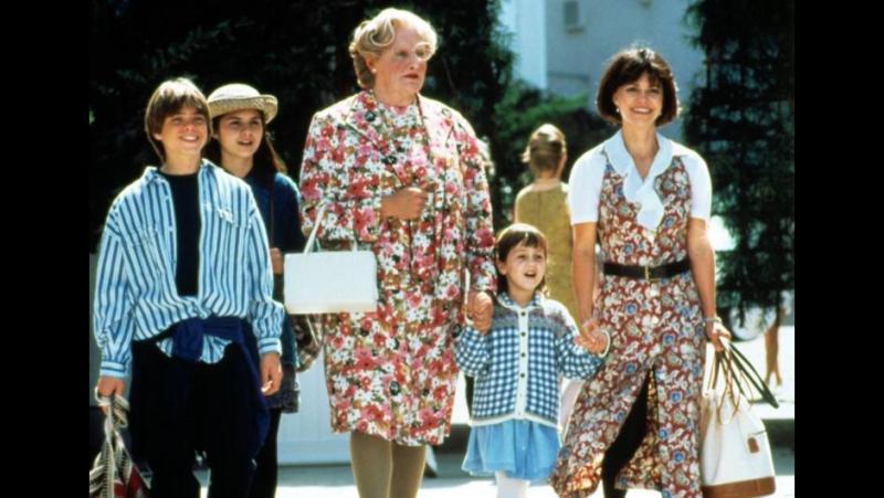 Миссис Даутфайр / Mrs. Doubtfire (1993) BDRip 720p [vk.com/Feokino]