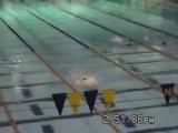 11 year old Michael Phelps wins 200 Freestyle - 1997