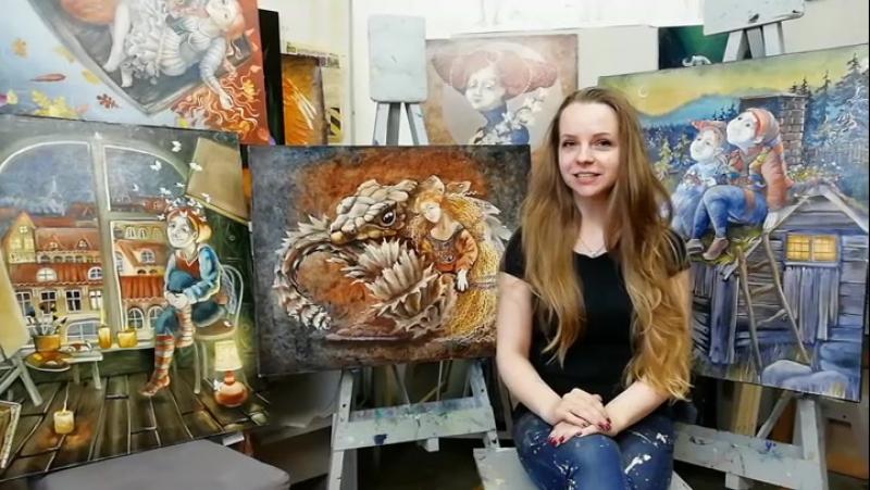 Приглашаем Вас на авторский Мастер-класс и выставку живописи Надежды Ильиной в Нижнем Новгороде