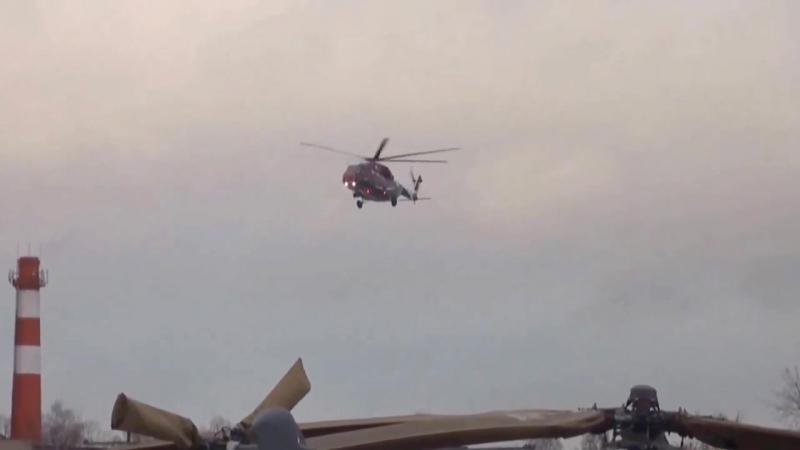 Вертолеты России - Ми-38 многоцелевой вертолет третьего прототипа Первый полет [1080p]