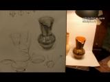 Обучение рисунку. Введение. 8 серия. Рисунок вазы и светотень