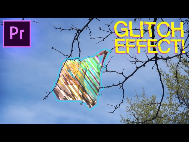 Adobe Premiere Pro Tutorial: Colorful GLITCH Fill Music Video Effect! (CC 2017 How to)